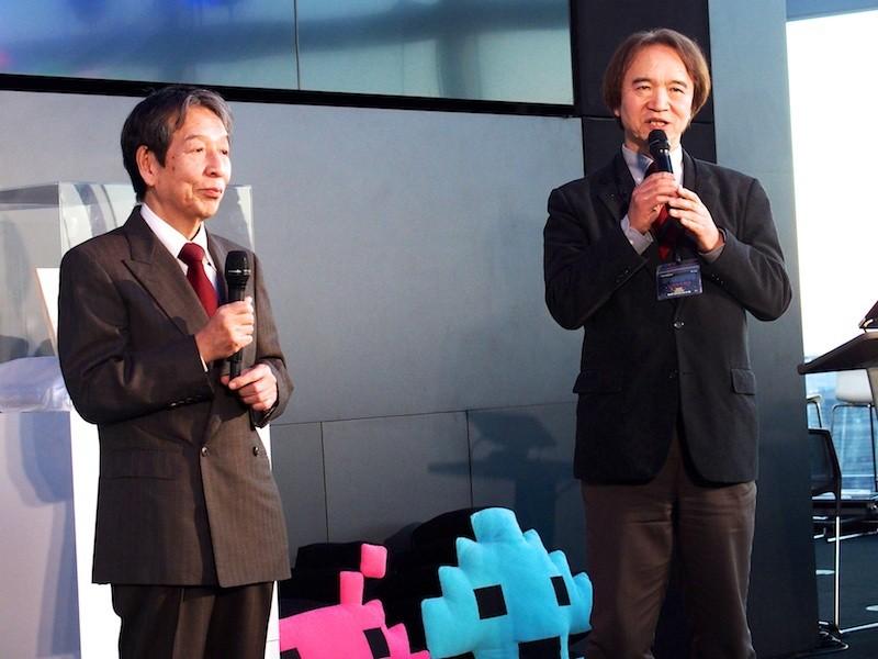 『スペースインベーダー』誕生40周年記念 ~『スペースインベーダー』が生まれた日~「PLAY!スペースインベーダー展」内覧会より  IGCC