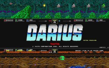 1980年代アーケードゲームにおける映像環境の常識を覆した『ダライアス』