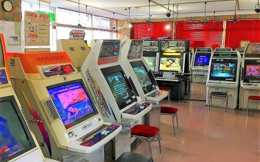 対戦格闘ゲームイベントで名を馳せる東海地方の老舗ゲーセン「サンセイブ城北店」